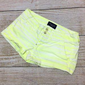 Women's American Eagle Neon Stretch Shorts Sz 00